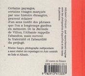 L'Epitaphe - 4ème de couverture - Format classique
