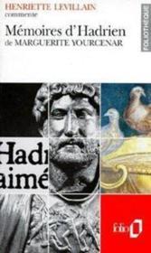 Mémoires d'Hadrien de Marguerite Yourcenar - Couverture - Format classique