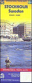 Stockholm/suède/sweden ; 1/750 000 (édition 2007) - Couverture - Format classique