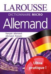 Allemand ; français-allemant ; allemand-français - Couverture - Format classique