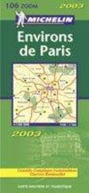 11106 carte zoom environs de paris - Intérieur - Format classique