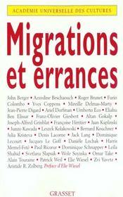 Migrations et errances - Intérieur - Format classique