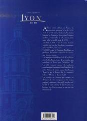 L'histoire de lyon en bd t.3 ; de la révolution à nos jours - 4ème de couverture - Format classique