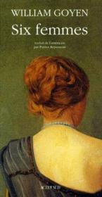 Six femmes - Couverture - Format classique