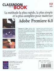 Ciab Premiere 6 - 4ème de couverture - Format classique