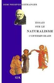 Essai Sur Le Naturalisme Contemporain - Couverture - Format classique