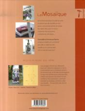 La mosaïque ; accessoires, déco, customisation - 4ème de couverture - Format classique