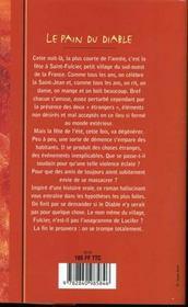 Feux De La Saint Jean - 4ème de couverture - Format classique