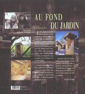 Au fond du jardin - 4ème de couverture - Format classique