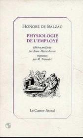 Physiologie de l'employé - Couverture - Format classique