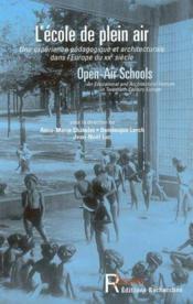 L'Ecole De Plein Air - Couverture - Format classique