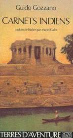 Carnets indiens - Couverture - Format classique
