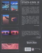 Etats-unis grandeur nature - 4ème de couverture - Format classique