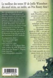 La créode - 4ème de couverture - Format classique