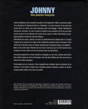 Johnny ; une passion française - 4ème de couverture - Format classique