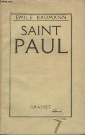 Saint Paul. - Couverture - Format classique