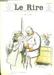 Le Rire N° 236 Du 10 Aout 1907. Sommaire: Les Potins De Paris, La Comtesse Tatoue Ou Les Nouveaux Exploits Du Policier Poireau... - Couverture - Format classique