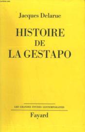 Histoire De La Gestapo. - Couverture - Format classique