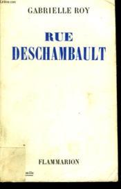 Rue Deschambault. - Couverture - Format classique