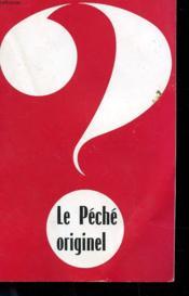 Brochure - Le Peche Originel - Couverture - Format classique