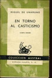 En Torno Al Casticismo - Couverture - Format classique