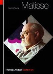 Matisse (world of art) /anglais - Couverture - Format classique
