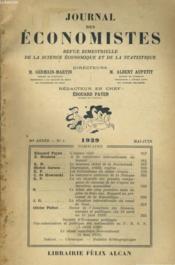 Journal Des Economistes - Revue Bimestrielle De La Science Economique Et De La Statistique N°3 98e Annee - Couverture - Format classique