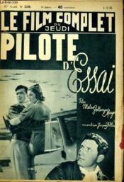 Le Film Complet Du Jeudi N° 2169 - 17e Annee - Pilote D'Essai - Couverture - Format classique
