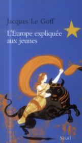 L'Europe expliquée aux jeunes - Couverture - Format classique