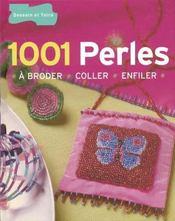 1001 perles a broder, coller, enfiler - Intérieur - Format classique