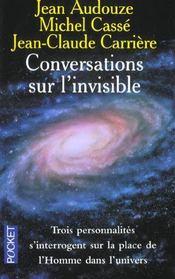 Conversations Sur L'Invisible - Intérieur - Format classique