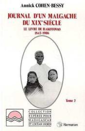 Journal d'un Malgache du XIXe siècle. le livre de - Couverture - Format classique