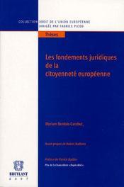 Les fondements juridiques de la citoyenneté européenne - Intérieur - Format classique