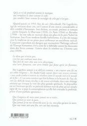 Pays Du Soir - 4ème de couverture - Format classique