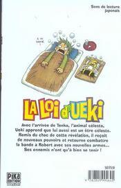 La loi d'ueki t.6 - 4ème de couverture - Format classique
