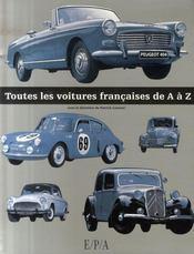 Toutes les voitures françaises de A à Z - Intérieur - Format classique