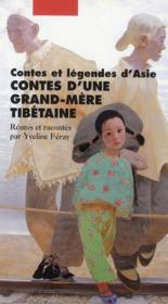Contes d'une grand-mère tibétaine - Couverture - Format classique