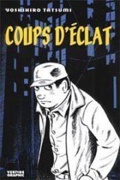 Coups D'Eclats - Couverture - Format classique