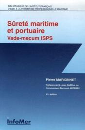 Sûreté maritime et portuaire vade-mecum thématique isps - Couverture - Format classique