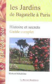Les jardins de bagatelle à paris - Intérieur - Format classique