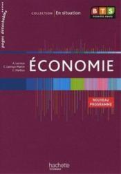 Économie ; BTS 1ère année ; livre de l'élève - Couverture - Format classique