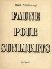 Faune pour sunlights - Couverture - Format classique