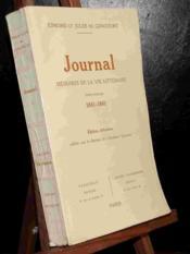 Journal -Tome 1 - 1851-1861 - Couverture - Format classique