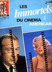 Cine Revue - Tele-Programmes - 55e Annee - N° 49 A Hors-Serie - Les Immortels Du Cinema Americain - Couverture - Format classique