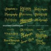 Snapshot Chronicles /Anglais - Couverture - Format classique