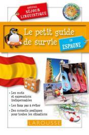 Le petit guide de survie en Espagne - Couverture - Format classique