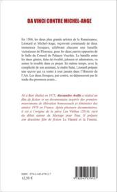 Da Vince contre Michel-Ange - Couverture - Format classique
