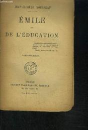 Emile Ou De L Education- Tome 2 Vendu Seul - Couverture - Format classique
