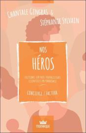 Nos héros : fictions sur nos travailleurs essentiels en pandémie ; concierge/facteur - Couverture - Format classique