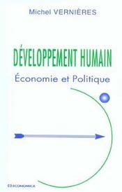 Developpement Humain - Intérieur - Format classique